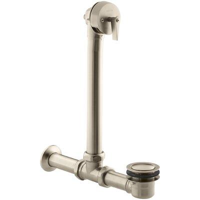 Iron Works Exposed Bath 1.5 Leg Tub Drain Finish: Vibrant Brushed Bronze
