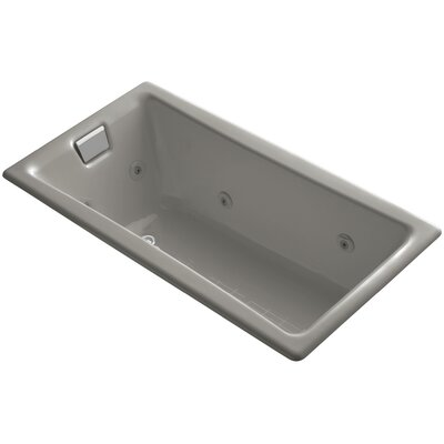 Tea-For-Two 60 x 32 Whirlpool Bathtub Finish: Cashmere