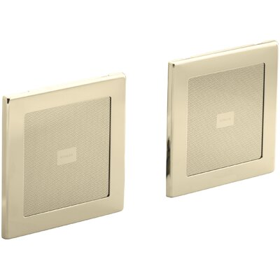 Soundtile Speakers (Pair Of Speakers) Finish: Vibrant French Gold