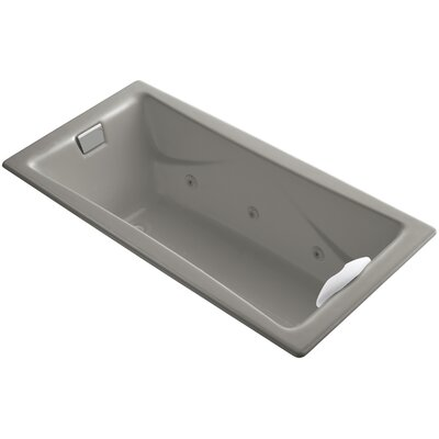 Tea-For-Two 72 x 36 Whirlpool Bathtub Finish: Cashmere