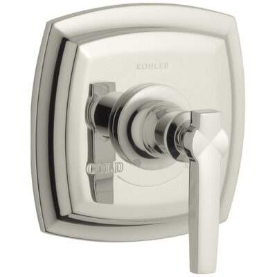Margaux Valve Trim with Lever Handle for Thermostatic Valve, Requires Valve Finish: Vibrant Polished Nickel