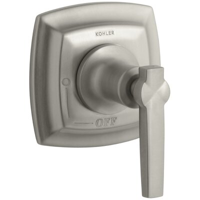 Margaux Valve Trim with Lever Handle for Volume Control Valve, Requires Valve Finish: Vibrant Brushed Nickel