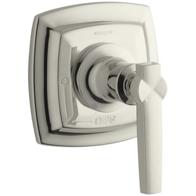 Margaux Valve Trim with Lever Handle for Volume Control Valve, Requires Valve Finish: Vibrant Polished Nickel