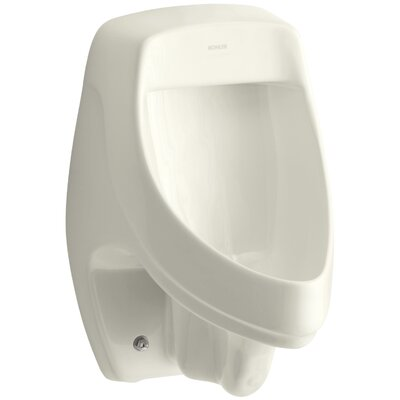 Dexter Siphon-Jet Wall-Mount 1/2 GPF Urinal with Rear Spud Finish: Biscuit