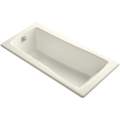 Maestro 66 x 32 Soaking Bathtub Finish: Biscuit