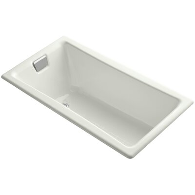 Tea for Two for Two 60 x 32 Soaking Bathtub Finish: Dune