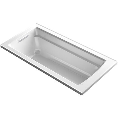 Archer 66 x 32 Soaking Bathtub Finish: White