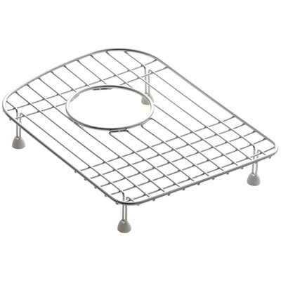 Woodfield 9-1/2 x 13 Stainless Steel Sink Rack, for Left Bowl