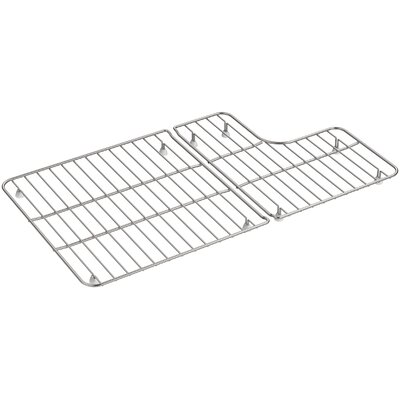 2 Piece Whitehaven Stainless Steel Rack for Whitehaven K-5826/5827 Sinks