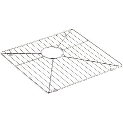 Vault /Strive Stainless Steel Sink Rack for Left Basin, 16-15/16 x 15-15/16