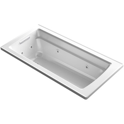 Archer ExoCrylic� 66 x 32 Drop-in Whirlpool Finish: White