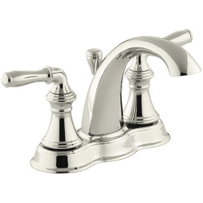 Devonshire Centerset Bathroom Sink Faucet Faucet Finish: Vibrant Polished Nickel