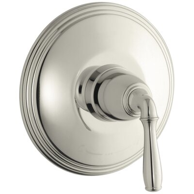 Devonshire Valve Trim for Thermostatic Valve with Lever Handle, Requires Valve Finish: Vibrant Polished Nickel