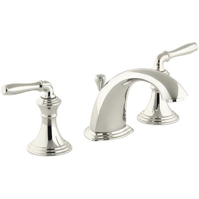 Devonshire Standard Bathroom Faucet Double Handle with Drain Assembly Finish: Vibrant Polished Nickel