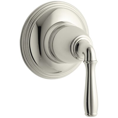 Devonshire Valve Trim for Volume Control Valve with Lever Handle, Requires Valve Finish: Vibrant Polished Nickel