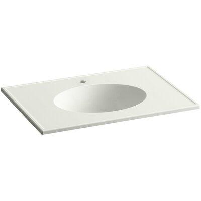 Ceramic Impressions 31 Single Bathroom Vanity Top Top Finish: Dune Impressions