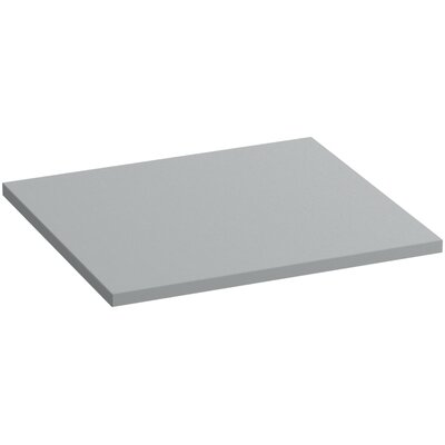 Solid/Expressions 25 Single Bathroom Vanity Top Finish: Ice Grey Expressions