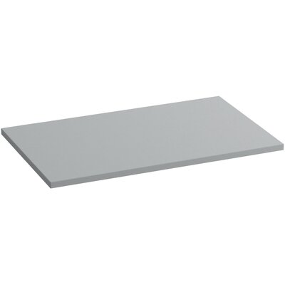 Solid/Expressions 37 Single Bathroom Vanity Top Finish: Ice Grey Expressions