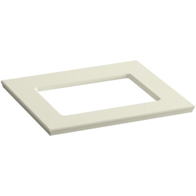 Solid/Expressions 25 Single Bathroom Vanity Top Finish: Biscuit Expressions