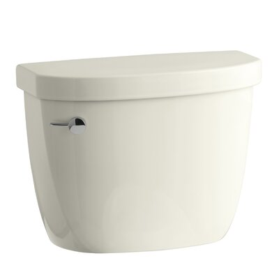 Cimarron 1.6 GPF Toilet Tank with Aquapiston Flush Technology and Tank Locks Finish: Biscuit