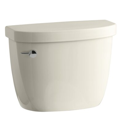 Cimarron 1.6 GPF Toilet Tank with Aquapiston Flush Technology and Tank Locks Finish: Almond