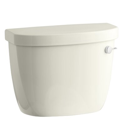 Cimarron 1.6 GPF Toilet Tank with Aquapiston Flush Technology and Right-Hand Trip Lever Finish: Biscuit