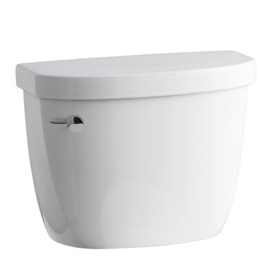 Cimarron 1.6 GPF Toilet Tank with Aquapiston Flush Technology and Tank Locks Finish: White