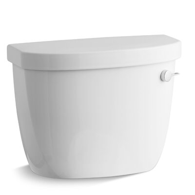 Cimarron 1.6 GPF Toilet Tank with Aquapiston Flush Technology and Right-Hand Trip Lever Finish: White