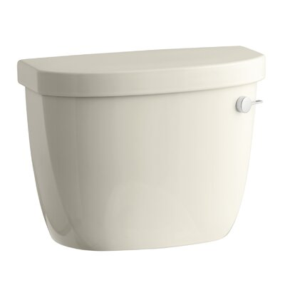 Cimarron 1.6 GPF Toilet Tank with Aquapiston Flush Technology and Right-Hand Trip Lever Finish: Almond