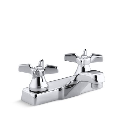 Triton Centerset Commercial Bathroom Sink Faucet, Requires Handles, Drain Not Included