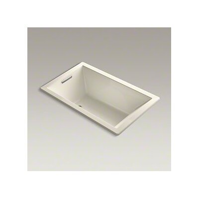Underscore 60 x 36 Air Bathtub Finish: Almond