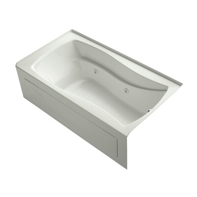 Mariposa 66 x 36 Whirlpool Bathtub Finish: Dune, Drain Location: Right