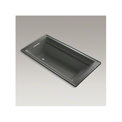 Archer 72 x 36 Soaking Bathtub Finish: Thunder Grey