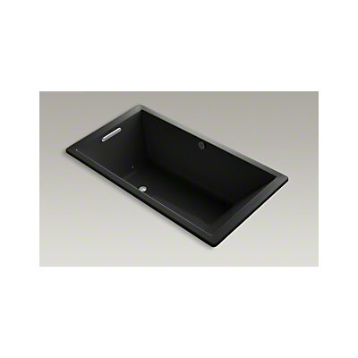 Underscore 66 x 36 Air Bathtub Finish: Black Black