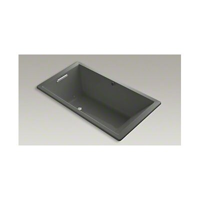 Underscore 66 x 36 Air Bathtub Finish: Thunder Grey