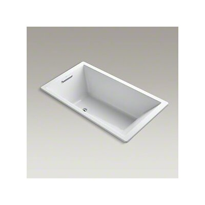Underscore 66 x 36 Soaking Bathtub Finish: White