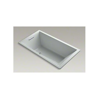 Underscore 66 x 36 Soaking Bathtub Finish: Ice Grey