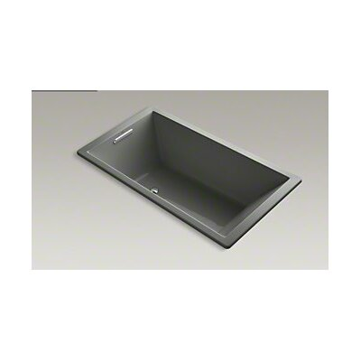 Underscore 66 x 36 Soaking Bathtub Finish: Thunder Grey