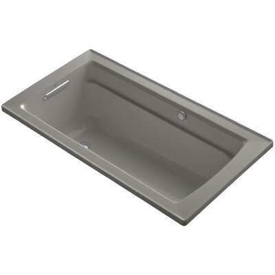 Archer Bubblemassage 60 x 32 Soaking Bathtub Sink Finish: Cashmere