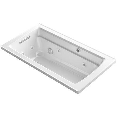 Archer 60 x 32 Air / Whirlpool Bathtub Finish: White