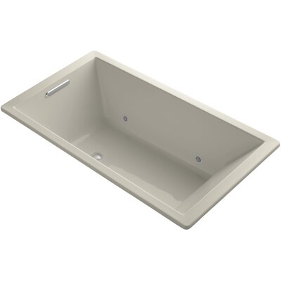 Underscore 66 x 36 Soaking Bathtub Finish: Sandbar