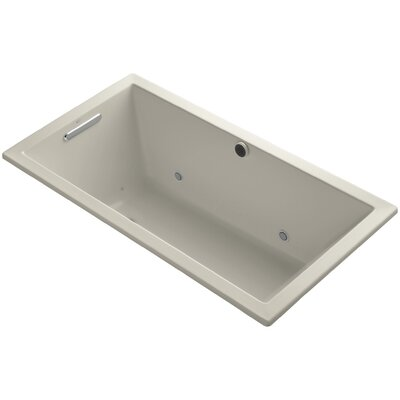 Underscore 60 x 32 Air Bathtub Finish: Sandbar