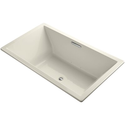 Underscore 72 x 42 Air Bathtub Finish: Almond