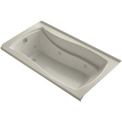 Mariposa Alcove 66 x 36 Whirpool Bathtub Finish: Sandbar