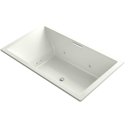 Underscore 72 x 42 Air / Whirlpool Bathtub Finish: Dune