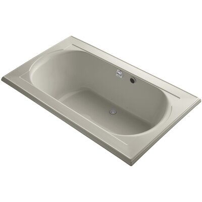 Memoirs Bubblemassage 72 x 42 Soaking Bathtub Finish: Sandbar