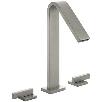 Loure Deck-Mount Bath Faucet Finish: Vibrant Brushed Nickel