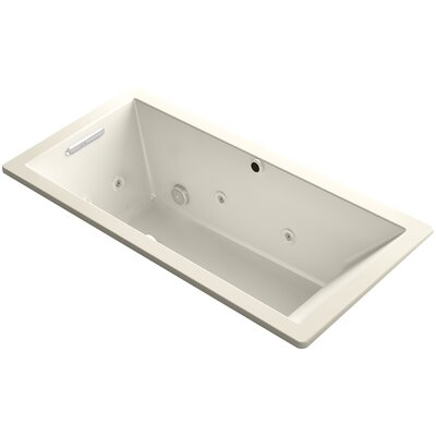 Underscore 66 x 32 Air / Whirlpool Bathtub Finish: Almond