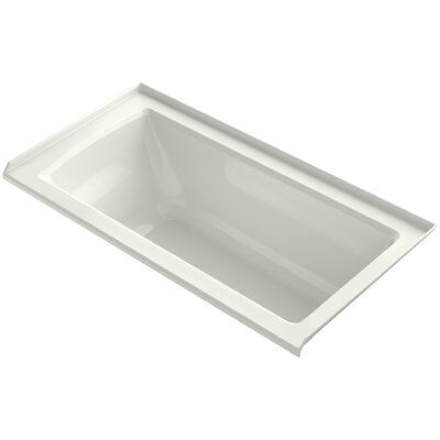 Archer 60 x 30 Soaking Bathtub Finish: Dune, Drain Location: Right
