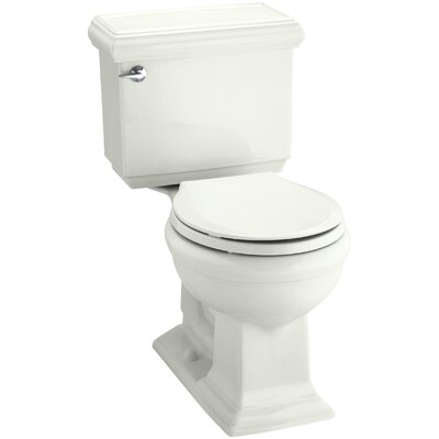 Memoirs Classic Comfort Height Two-Piece Round-Front 1.28 GPF Toilet with Aquapiston Flush Technology and Insuliner Tank Liner Finish: Dune